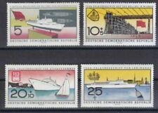 Briefmarken mit Luftfahrt-Motiven aus der DDR