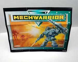 Mechwarrior Poster for Super Nintendo SNES