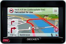 BECKER  50 LKW Truck Bus PKW  Camper Navi SAtNav GPS Kartenmaterial aktuell