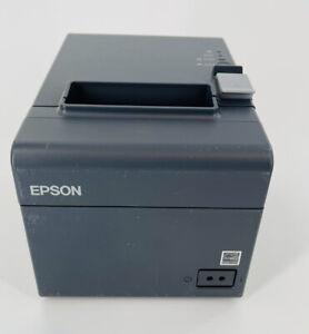 Epson TM-T20II USB Model M267D Serial Thermal Receipt Printer, Power Adapter
