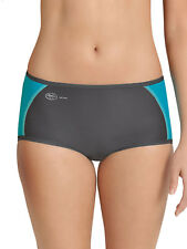 Women's Sports Panty Knickers Sports Underwear by Anita 1627 Peacock/Anthracite