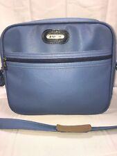 Vintage Samsonite Montbello II Vinyl Shoulder Bag Carry on Blue