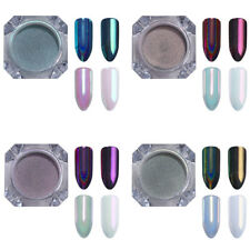 4 Boxes/Set Chameleon Nail Art Glitter Powder Holographic Pigment BORN PRETTY