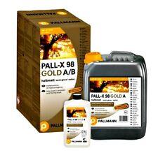 Pallmann PALL-X 98 GOLD 4,95L halbmatt oder matt, 2K Parkettlack Pall X 98