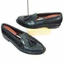 Allen Edmonds Harvard Blue Leather Dress Slip On Tassel Loafers Men's SZ 11.5 B