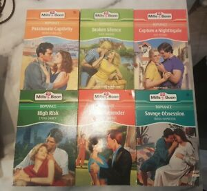 6x Mills And Boon Romance Novels
