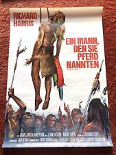 Ein Mann den sie Pferd nannten Kinoplakat Poster A1, Richard Harris