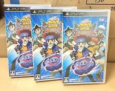 Lot 3 METAL BEYBLADE PSP VIDEO GAME GALAXY PEGASUS PEGASIS Wholesale TAKARA TOMY