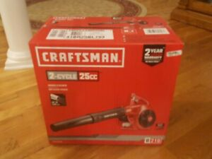 CRAFTSMAN Handheld Gas Leaf Blower 2-Cycle Gas Engine 430 CFM/200 MPH Air Speed