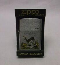 New listing Zippo 1997 Buck Fever Lighter New