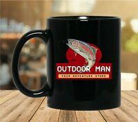 Outdoor Man Last Man Standing Black Coffee Mug - 11oz 15oz