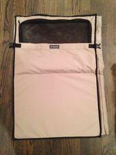 "NEW Victorinox Garment Bag Tan Khaki Swiss Army 21""x32"" Clip In Mesh Pocket Zip"