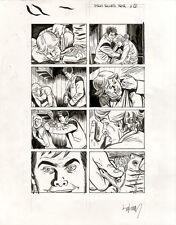 DAVID LAPHAM Stray Bullets Noir p9 ORIGINAL COMIC ART