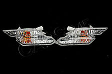 Genuine Clear White Side Marker Lights Pair BMW 6 Series E63 E64 2004-2010