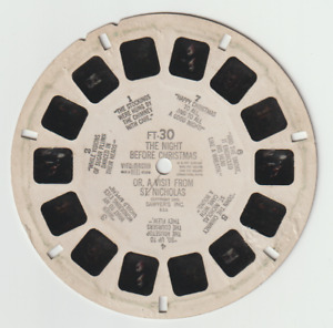 VIEWMASTER REEL: FT-30 THE NIGHT BEFORE CHRISTMAS