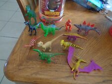 Toy Assorted Mini Dinosaur Plastic Figures (Lot of 12) New US Seller