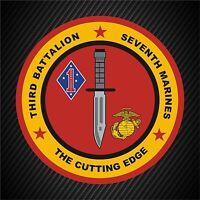 Window Bumper Sticker Military Marine Corps Recruit Training Regiment NEW Parris