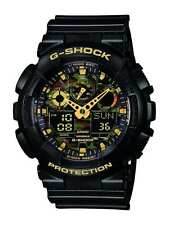 Casio GA 100CF 1A9ER Mens Watch By G Shock Black Tiger Camouflage