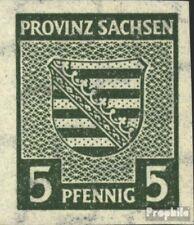 Soviet Zone (Allied.Cast.) 68I, bianco Punto in il 5 nuovo linguellato