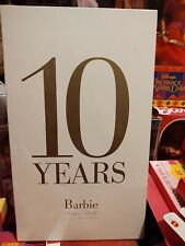 Silkstones Barbie 10 Years Barbie Fashion Model Collection Book 2000-2010 New