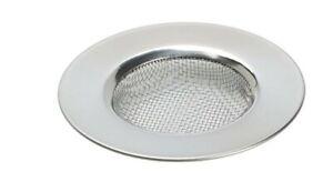 Sink Strainer Filter Kitchen Bathroom Plug Holes Anti-Clog Stainless Steel