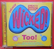 cd totally wicked too cher will smith spice girls jamiroquai catatonia aqua five