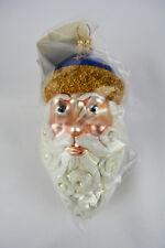 Patricia Breen Christmas Ornament Parker Santa Blue with Stars Yr2000 2088 New
