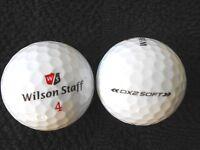 "10 WILSON STAFF -""DX2 SOFT""- ""NEW 2018/19"" MODEL -Golf Balls - ""PEARL"" Grade."