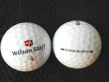 "20 WILSON STAFF -""DX2 SOFT""- ""NEW 2018/19"" MODEL -Golf Balls - ""PEARL"" Grades"