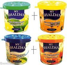 Combo of My Shaldan Car/Home Gel Air Freshener 320g (Lime+Lemon+Orange+Squash)