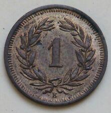 Schweiz, Rappen 1914, vz+