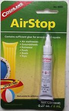 AIR STOP FOR ALL OF YOUR BLOWUP TOYS AND REPAIRS FOR RAIN GEAR, GROUND SHEETS