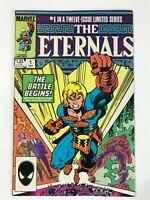ETERNALS #1 (1985) | 1ST FIRST CAMEO PHASTOS; KARYGMAX