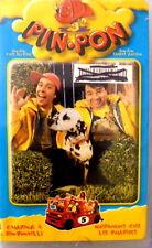 PIN PON VOLUME 5 CAMPING A PIN-PONVILLE QUIDROQUOS CHEZ LES POMPIERS VHS VIDEO
