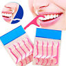 FJ- 25-250Pcs Dental Floss Pick Teeth Toothpicks Stick Oral Care Tooth Clean Bri