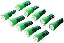 10x GRÜNE SMD T5 w1.2w Tachobleuchtung Instrumenten Beleuchtung Lampe grün