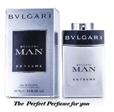 Bvlgari Man Extreme Eau De Toilette Spray EDT spr 3.4oz/100ml Perfumefor Men's