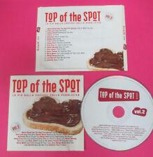 CD Compilation Top of The Spot 2010 Vol.2 MARIO BIONDI PROMO no lp mc vhs(C43)