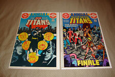 Teen Titans Annual #2-3 (1983-84) DC Comic Lot Of 2 1st App. of Vigilante FN/VF