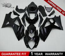 Injection Glossy Black ABS Fairing kit Bodywork For SUZUKI GSXR 1000 2007 2008