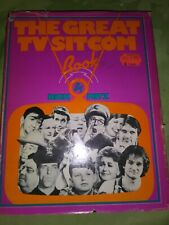 The Great Tv SitCom Book by Anne Witz (1980, Other)
