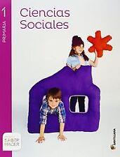 Ciencias Sociales 1º.Prim.(Saber Hacer). NUEVO. Envío URGENTE (IMOSVER)