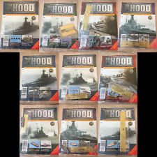 Hachette Partworks Build The HMS Hood Battle Cruiser 10 Issues Between 81 - 93