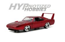 JADA 1:24  DISPLAY FAST AND FURIOUS 1969 DODGE CHARGER DAYTONA RED 97085