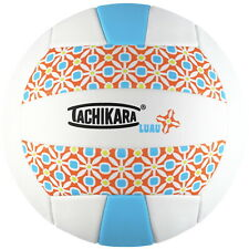 Tachikara SofTec LUAU Volleyball, Turquoise and White