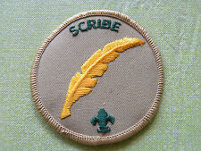 Scribe patch boy scout of america BSA