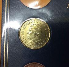 20 CENT VATICAN 2002 JEAN PAUL II ( PLAQUETTE ) NEUF / UNC.