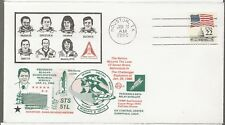 1/31/86 Nation Mourns Loss of the Crew Challanger,   Space Voyage Cover