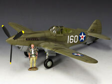 "King and Country Pearl Harbor P40 ""Tomahawk"" AF041"