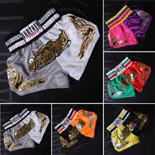 Unisex Mma Sports Boxing Printed Shorts Muay Thai Training Pants Xs~3Xl